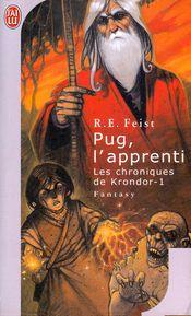 Couverture Pug, l'apprenti - La Guerre de la faille, tome 1