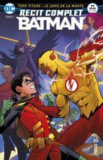 Couverture Teen Titans : Le Sang de la Manta - Récit complet Batman, tome 9