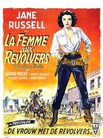 Affiche La Femme aux revolvers