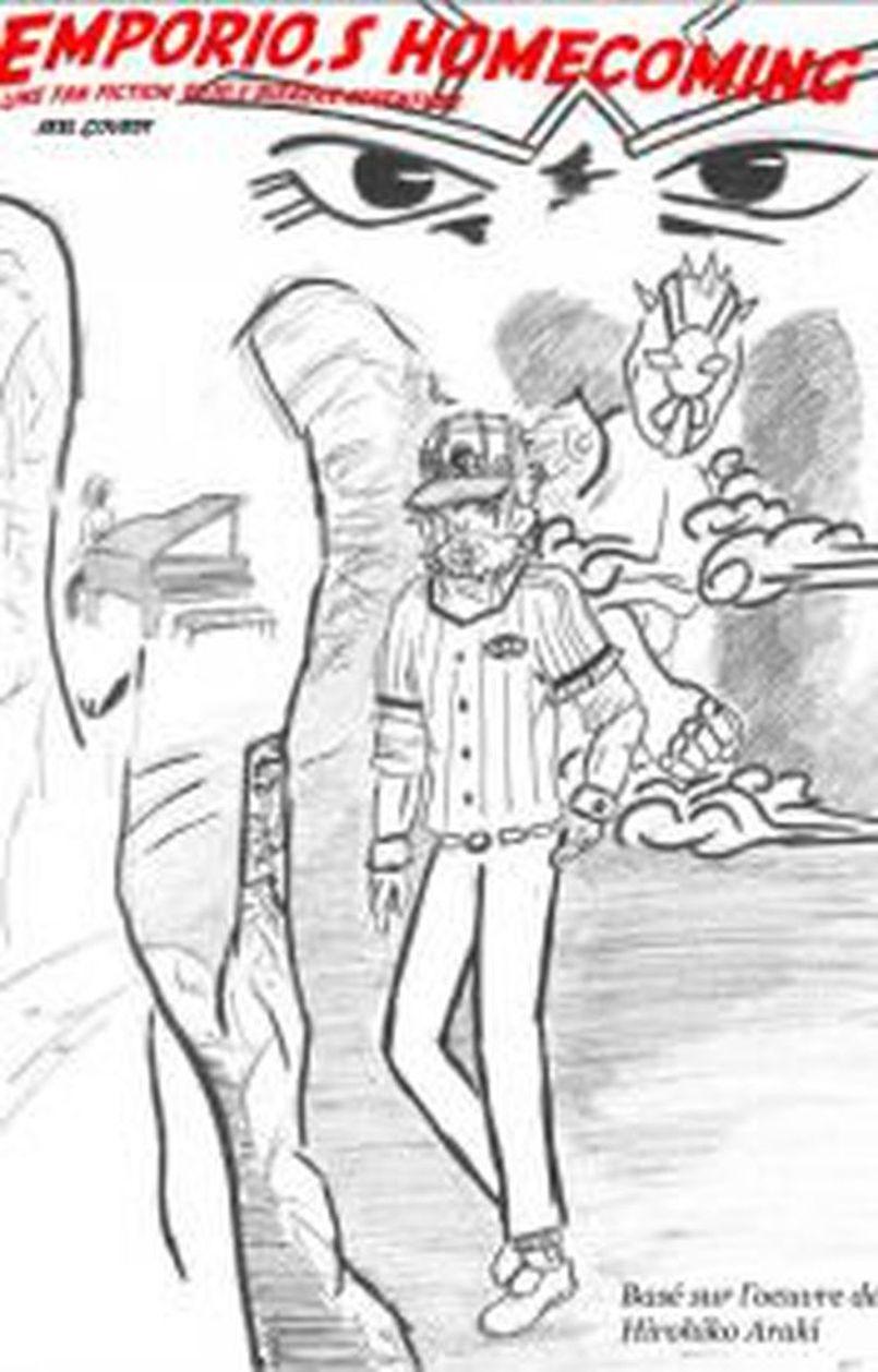 Une fan fiction jojo,s bizarre adventure: Emporio,s