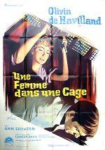 Affiche Une femme dans une cage