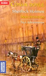 Couverture Sherlock Holmes : Two Adventures