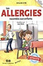 Couverture Les allergies racontées aux enfants