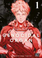 Couverture Genocidal Organ