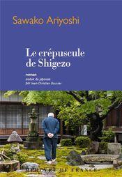 Couverture Le crépuscule de Shigezo