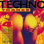 Pochette Techno Trance, Volume 4