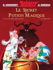 Couverture Astérix : Le Secret de la potion magique