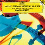 Pochette Streichquartette KV 421 & 575