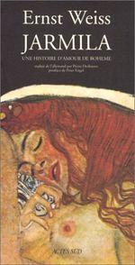 Couverture Jarmila: une histoire d'amour de Bohême
