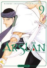 Couverture The Heroic Legend of Arslân, tome 9