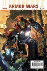 Couverture Ultimate Comics: Armor Wars