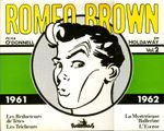 Couverture Romeo Brown, intégrale 2 - 1961-1962