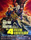 Affiche Les Quatre Fils de Katie Elder