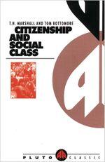 Couverture Citoyenneté et classe sociale