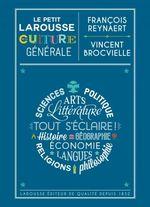 Couverture Le Petit Larousse de la culture générale
