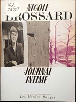 Couverture Journal intime