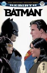 Couverture Batman Rebirth (DC Presse), tome 19