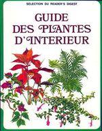 Couverture Guide des plantes d'intérieur