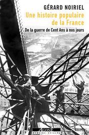 Couverture Une histoire populaire de la France