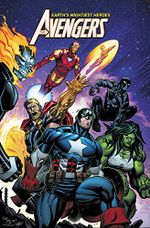 Couverture Avengers (2018), tome 2