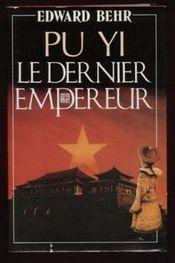 Couverture Pu Yi le dernier empereur
