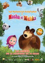 Affiche Les Nouvelles Aventures de Masha et Michka