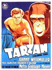 Affiche Tarzan, l'homme singe