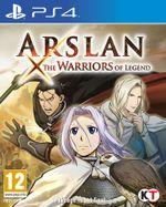 Jaquette Arslan: The Warriors of Legend
