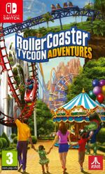 Jaquette RollerCoaster Tycoon Adventures