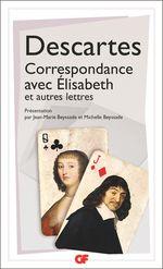 Couverture Correspondance avec Élisabeth et autres lettres