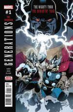 Couverture Generations: The Unworthy Thor & The Mighty Thor