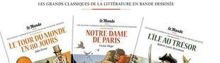 Cover Les Grands Classiques de la littérature en bande dessinée