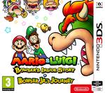 Jaquette Mario & Luigi : Voyage au centre de Bowser + L'épopée de Bowser Jr.