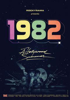 Affiche Hollywood 1982, un été magique au cinéma