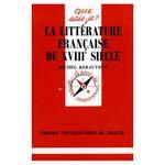 Couverture La littérature française du XVIIIe siècle