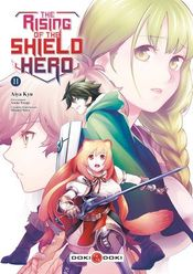 Couverture The Rising of the Shield Hero, tome 11
