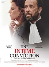 Affiche Une intime conviction