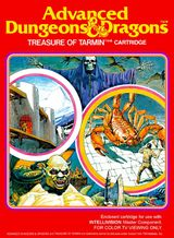 Jaquette Advanced Dungeons & Dragons : Treasure of Tarmin