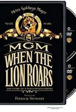 Affiche MGM : When the lion roars
