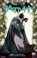 Couverture The Wedding - Batman (Rebirth), tome 7