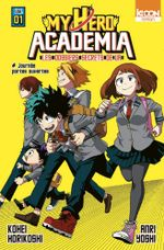 Couverture My Hero Academia : les dossiers secrets de UA