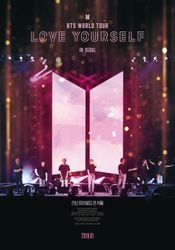 Affiche BTS World Tour: Love Yourself in Seoul