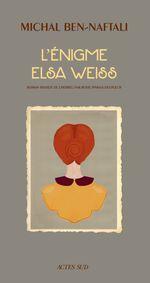 Couverture L'énigme Elsa Weiss