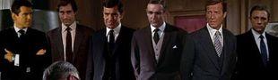 Cover TOP James Bond (EON) selon les notes de Sens Critique