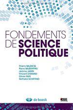 Couverture Fondements de science politique