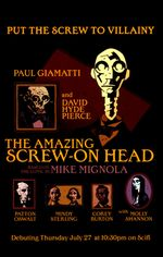 Affiche The Amazing Screw-On Head