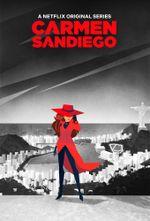 Affiche Carmen Sandiego
