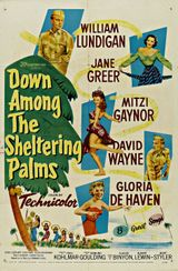 Affiche Down Among the Sheltering Palms