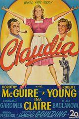 Affiche Claudia
