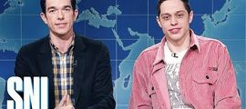 Vidéo Pete Davidson & John Mulaney Review Clint Eastwood's The Mule - SNL